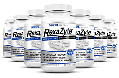 seven bottles of RexaZyte
